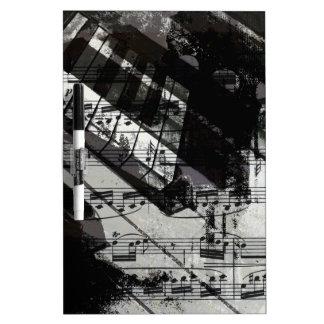 music, piano decor (10) Dry-Erase boards