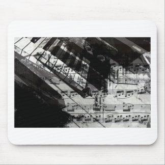 music, piano decor (10) mousepads