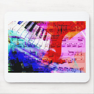music, piano decor (11) mouse pads