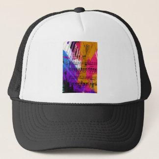 music, piano decor (12) trucker hat
