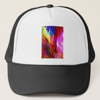 music, piano decor (16) trucker hat