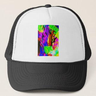 music, piano decor (19) trucker hat