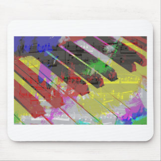 music, piano decor (1) mouse mat