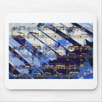 music, piano decor (3) mousemats