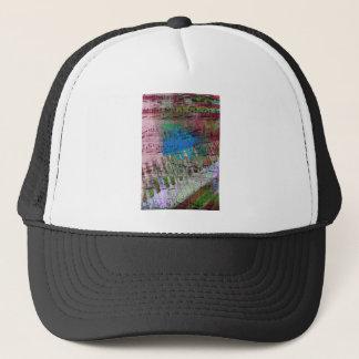 music, piano decor (6) trucker hat