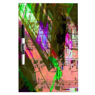 music, piano decor (8) dry erase boards