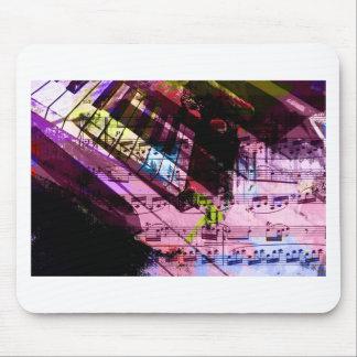 music, piano decor (9) mouse mat