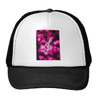 Music Piano Gclef Trucker Hat