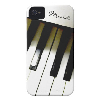 Music Piano Keyboard Personalized iPhone 4 Covers