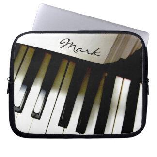 Music Piano Keyboard Personalized Computer Sleeve