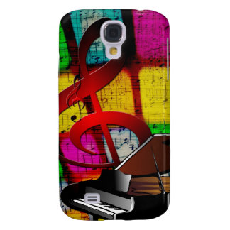 Music Piano Keys Notes Teacher Destiny Instruments Samsung Galaxy S4 Cases