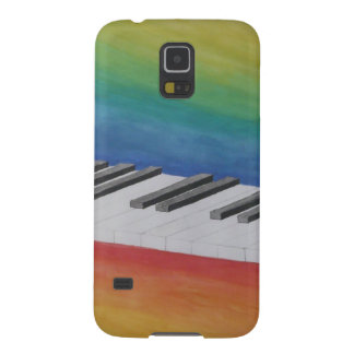 Music Piano Keys Notes Teacher Destiny Instruments Cases For Galaxy S5