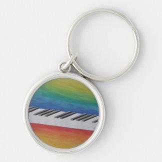 Music Piano Keys Notes Teacher Destiny Instruments Keychain