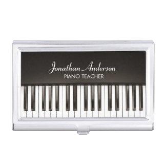Music Piano Teacher Business Card Holder
