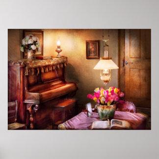Music - Piano - The Music Room Print
