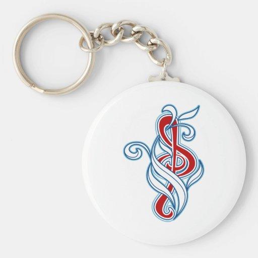 Music picker keychain
