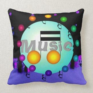 Music Pillows Musical Pillow Musicians DJs Bands