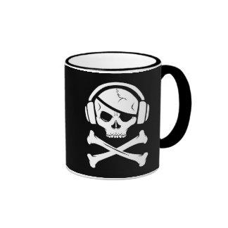 Music Pirate Piracy anti-riaa icon Mug