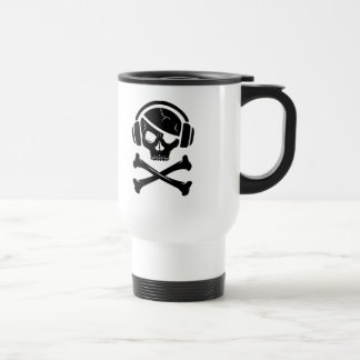 Music Pirate Piracy anti-riaa logo Mug
