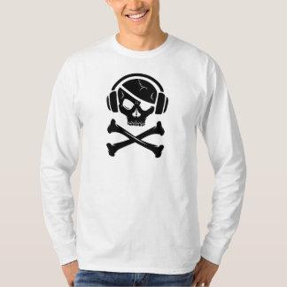 Music Pirate Piracy anti-riaa logo T-Shirt