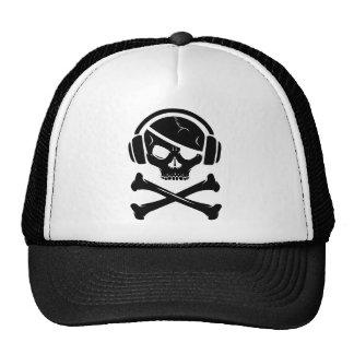 Music Pirate Piracy anti-riaa logo Trucker Hat