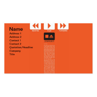 Music Play Business Cards