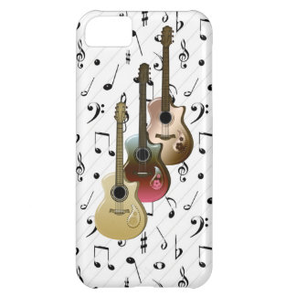Music Player 3 Guitars Case-Mate iPhone 5 iPhone 5C Covers