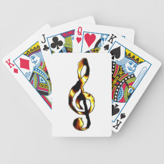 Music Playing Cards Bicycle Playing Cards