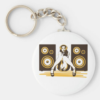 Music Please Keychain