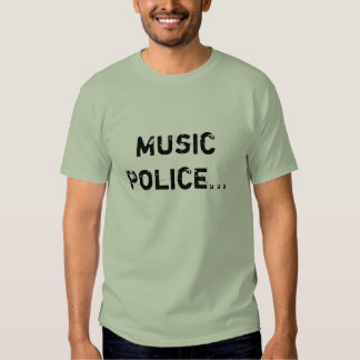 Music Police. T Shirt