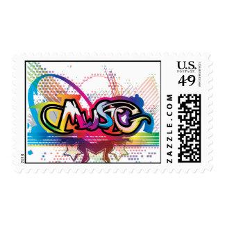 Music Postage Stamp