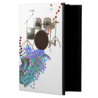 Music Poster 1 Teal Cover For iPad Air