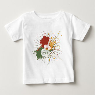 Music Poster with Guitar 7 Baby T-Shirt