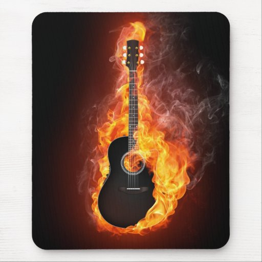 """Music Power"" Mousepad"