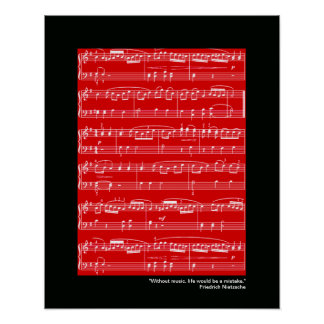 music print for wall