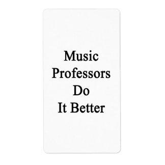 Music Professors Do It Better Custom Shipping Labels