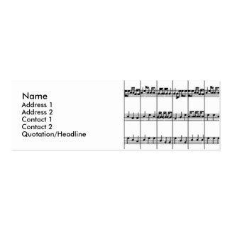 Music Profile Cards