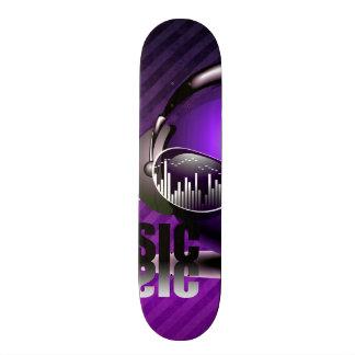 Music Pumping In My Ears Skateboard