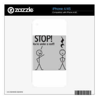 Music Puns Skins For The iPhone 4S