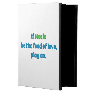 Music Quote - If music be the food of love, play … Powis iPad Air 2 Case