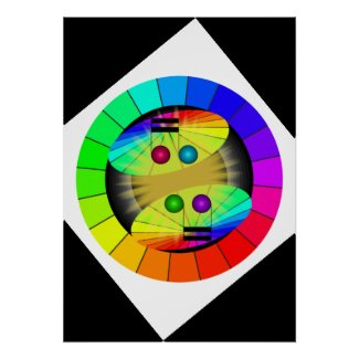 Music Rainbow Colors Musical Posters