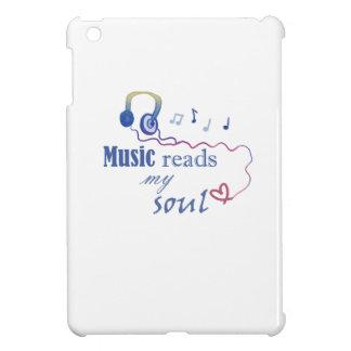 Music READS my soul iPad Mini Case