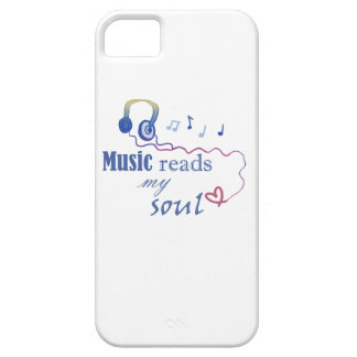 Music READS my soul iPhone SE/5/5s Case