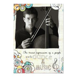 music recital invite