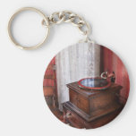Music - Record - Granny is going to dance later Key Chain