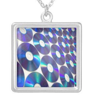 Music Records Retro Design Necklace