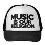 Music Religion Hats