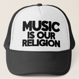 Music Religion Trucker Hat