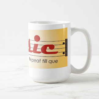 MUSIC repeat till que sulk Coffee Mug