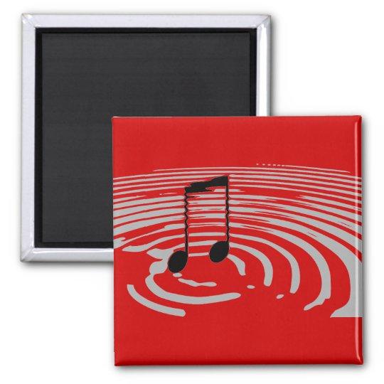 Music Ripple Magnet